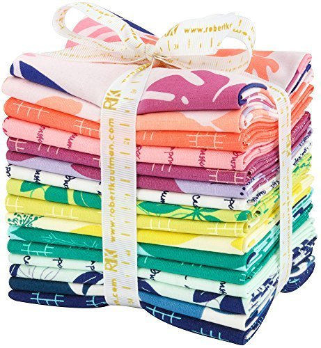 (Heather Jones Conservatory 16 Fat Quarters Robert Kaufman Fabrics FQ-1188-16)