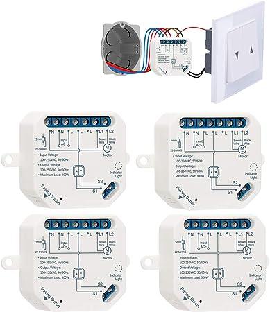 LoraTap - Interruptor inteligente con wifi, módulo para persianas eléctricas, cortinas, persian...
