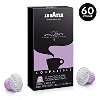 Deals on 60-Pk Lavazza Nespresso Compatible Capsules Avvolgente Lungo