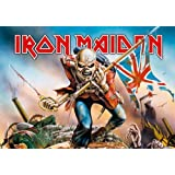 Iron Maiden - Trooper - Posterflagge 100% Polyester - Grösse 75x110 cm