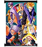 "Dragon Ball Z Trunks Anime Fabric Wall Scroll Poster (16""x20"") Inches"