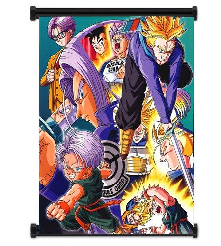 Dragon Ball Z Anime Trunks Fabric Wall Scroll Poster Wp DragonBallZ-64 L