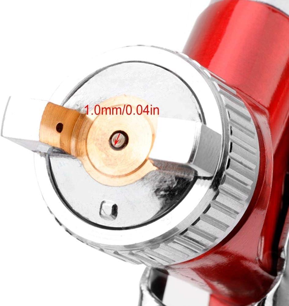 Pistola a spruzzo manuale mini for auto con ugello da 1,0 mm Vernice for pistola a spruzzo ad aria
