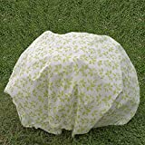 Agfabric 1.5oz Fabric of DIA 39' Plant Protecting Bag and Tree Cover for Winter Frost Protection Insect Barrier with Leaves Pattern