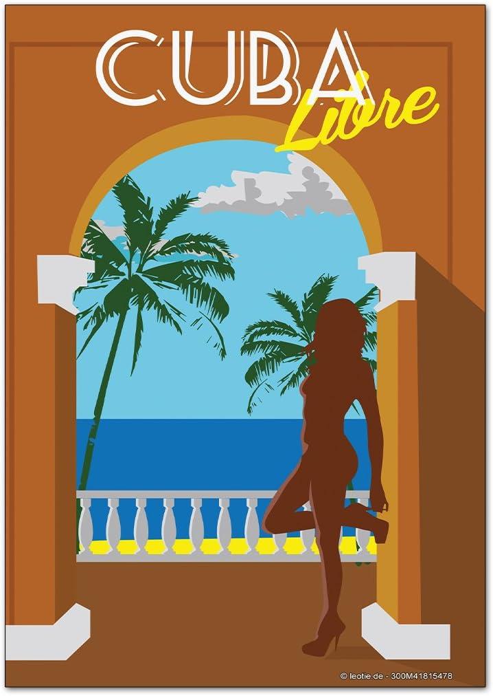 Magneti Calamite frigorifero Avventuriero Cuba Libre