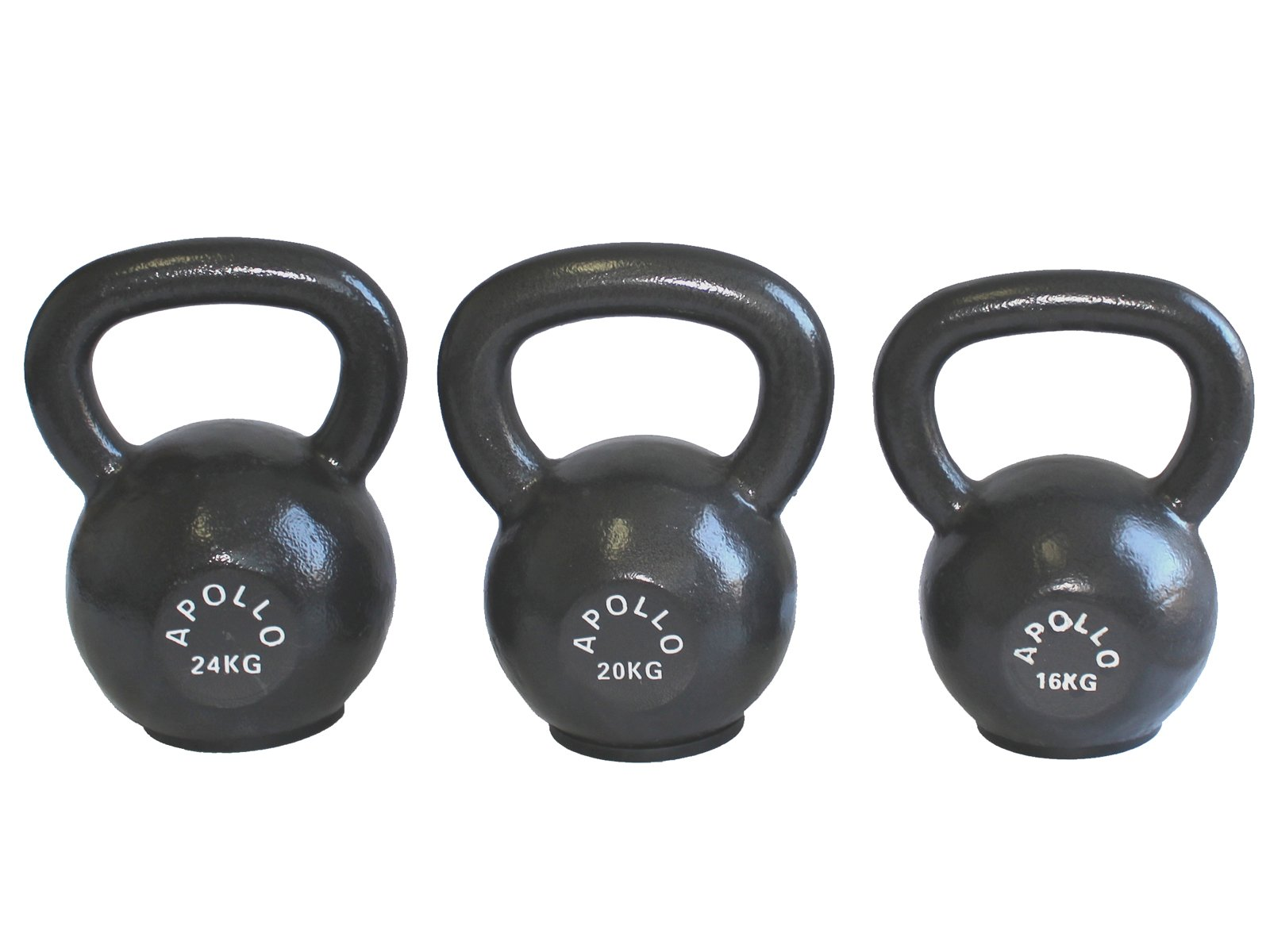 Apollo Athletics Fitness Deluxe Kettlebell Intermediate Set Medium