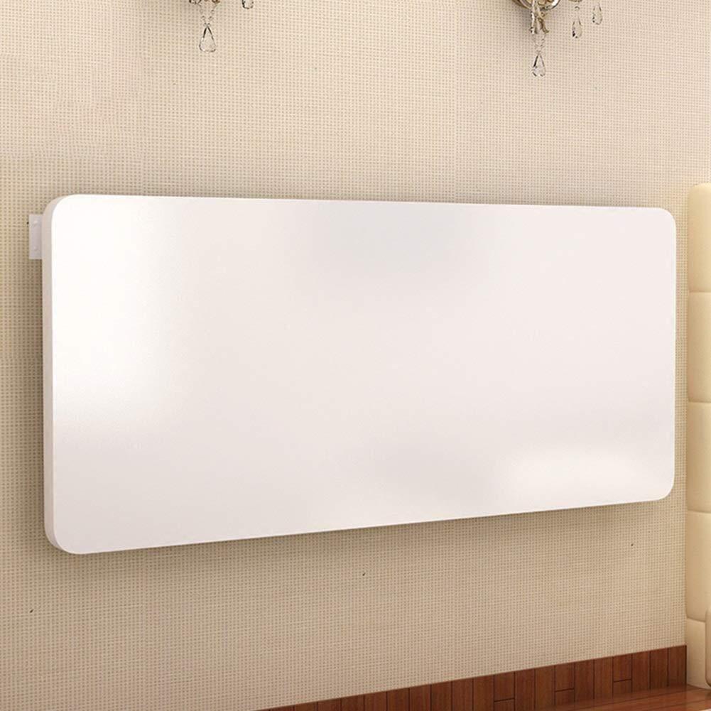 Lsmaaa - Mesa para Ordenador portátil (90 x 40 cm), Color Blanco ...