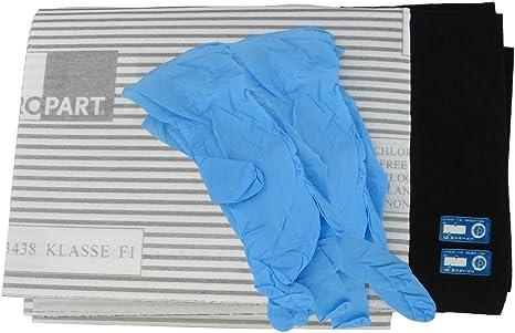 Europart - Filtro universal para campana extractora (incluye 2 filtros de grasa con indicador de saturación y 1 filtro de carbón de carbón, 60 cm): Amazon.es: Grandes electrodomésticos