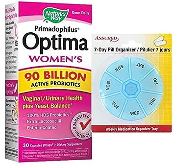 Tapas de naturalezas manera Primadophilus Optima mujeres 90 millones 30 vegetariana con gratis 7 días plástico