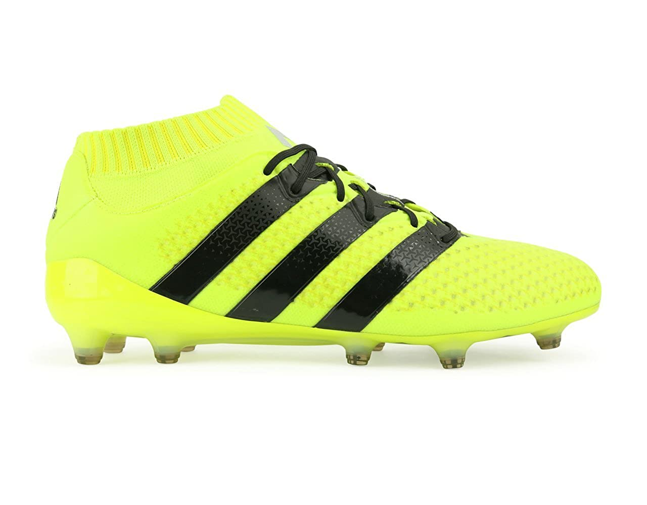 size 40 f16e9 0561c Amazon.com | adidas Men's ACE 16.1 Primeknit FG/AG Solar ...