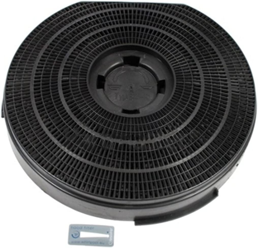 255 mm x 55 mm Ignis Genuine AKF420 Cooker Hood Charcoal Carbon Round Vent Filter