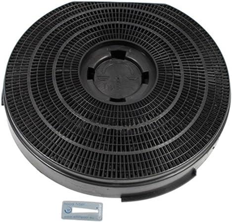 Auténtica Ignis AKF420 para campana extractora carbono redondo rejilla de filtro (255 mm x 55 mm): Amazon.es: Hogar