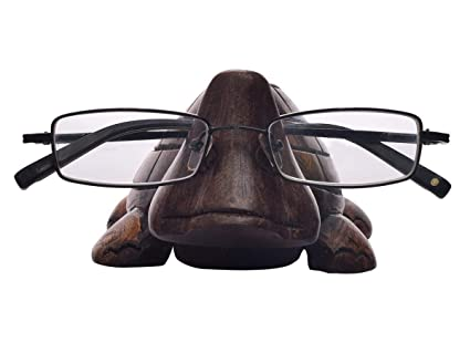 05c88ad395e3 Image Unavailable. Image not available for. Color  Kamla Sellers Spectacle  Holder Wooden Turtle Shaped Eyeglass Stand Handmade Display Optical Glasses  ...