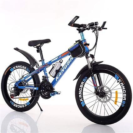 DBG Adulto Bicicleta de montaña 20 Pulgadas 22 Pulgadas 24 Pulgadas 21 Variable de 26 Pulgadas absorción de Choque Velocidad Pintado Pintura Bicicleta Freno de Disco,A,26 Inches: Amazon.es: Hogar