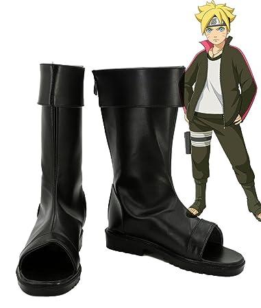 Boruto: Naruto the Movie Uzumaki Boruto Cosplay Shoes Boots Custom Made