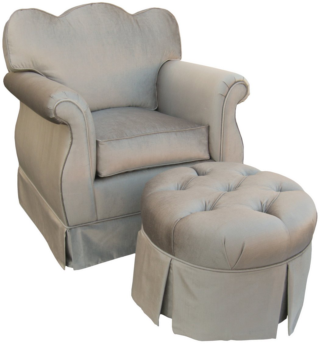 amazoncom angel song aspen silver empire adult rocker glider chair down filled baby
