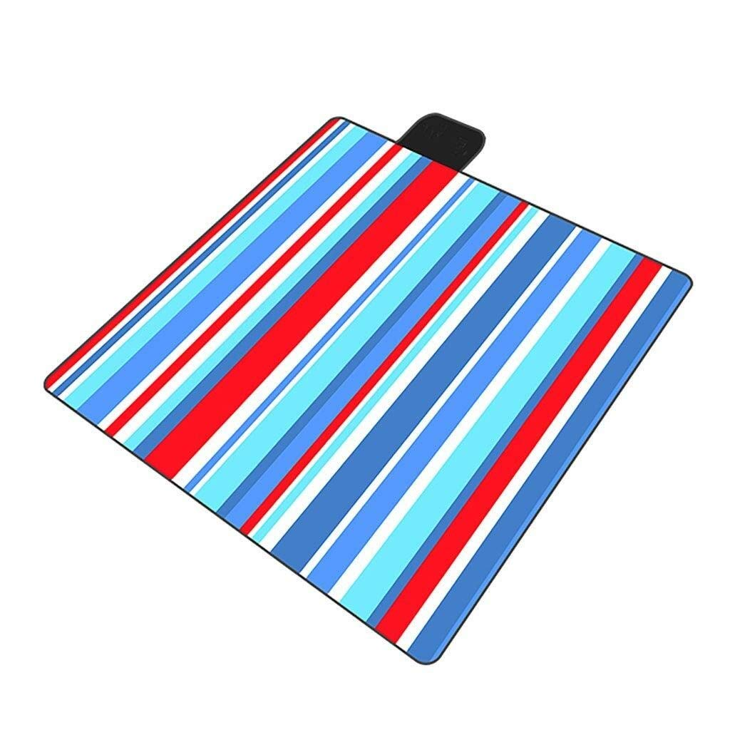 ZKKWLL Picnic Blanket Picnic Blanket Fleece Camping Beach Blanket Waterproof Sandproof Aluminum Backing Lightweight Suitable for Gardens, Parks Beach mat by ZKKWLL