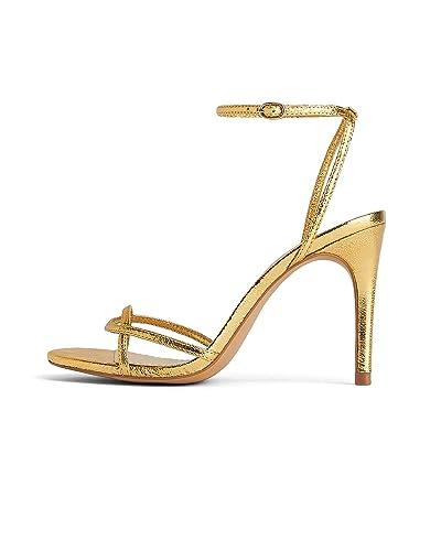 646ddf9ca Amazon.com: Zara Women High-Heel Sandals with Thin Straps 2349/001 ...