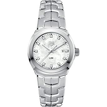9d2fc4e81e7 Amazon.com  TAG Heuer Link Diamond Women s Watch WBC1312.BA0600  Watches