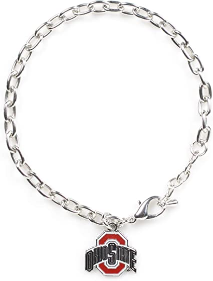 4-Pack aminco NCAA Ohio State Buckeyes Silicone Bracelets