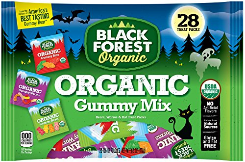 Black Forest Organic Gummy Candy Mix, 0.6 Ounce Bags, 28 Count