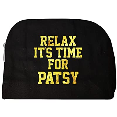 Relax Its Time For Patsy. Fun Gift Idea - Cosmetic Case