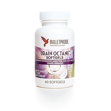 Amazon.com: Bulletproof Cerebro Octane softgels 60 caps por ...