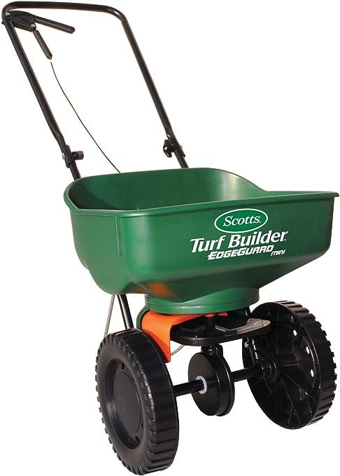 Amazon Com Scotts 76121 Turf Builder Edgeguard Mini Broadcast Spreader 76121 Lawn And Garden Spreaders Garden Outdoor