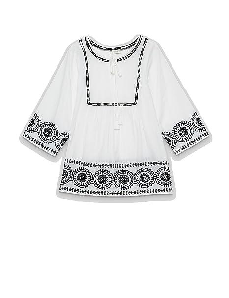 finest selection e3711 72736 Oltre : Tunica Etnica Bianco 52 (Italian Size): Amazon.it ...