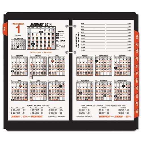 AAGE71250 - Burkharts Day Counter Desk Calendar ()
