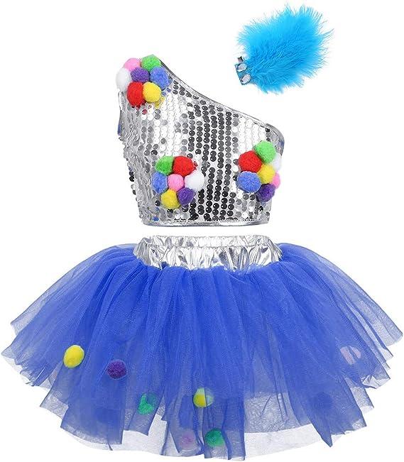 iiniim Disfraces Bailarina Niña de Ballet Traje de Danza Baile ...