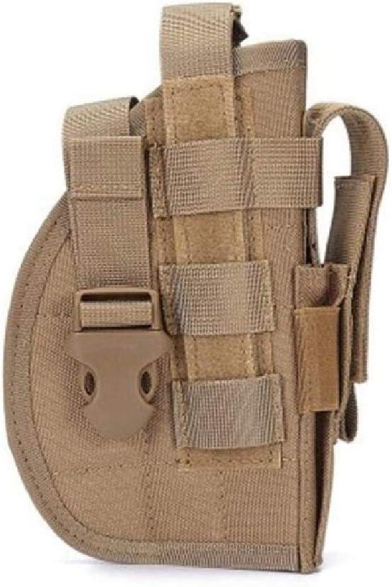 BGJ Funda Universal Airsoft Pistol Gun Holster para Glock 19 HK USP Makarov Sig P226 CZ 75 Shadow Molle Holster Sistema de Mano Derecha