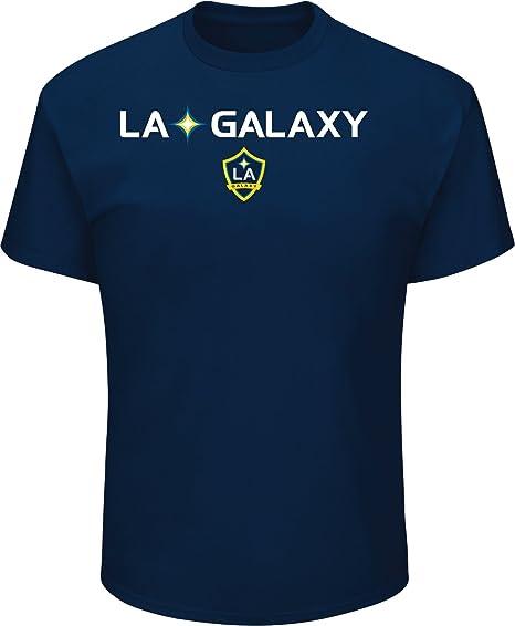 e90546ba86d Majestic Athletic Zlatan Ibrahimovic LA Galaxy  9 Men s Name   Number T- Shirt Navy