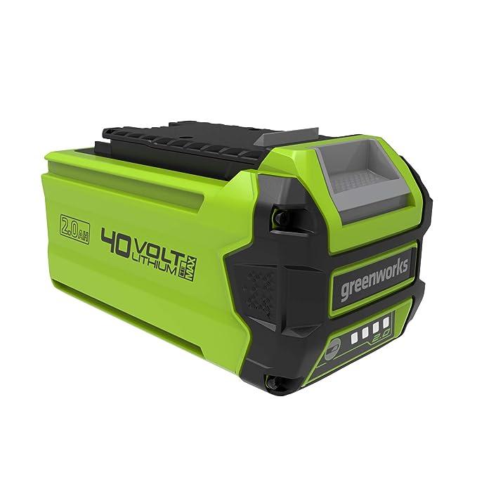 Greenworks Batería Li-Ion 40V 2Ah (sin cargador) - 29717