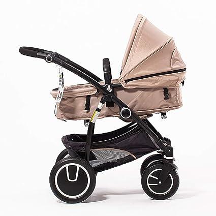 GZF Cochecito de Bebé de Confort Cochecito de bebé, cochecito reclinable del carrito de la