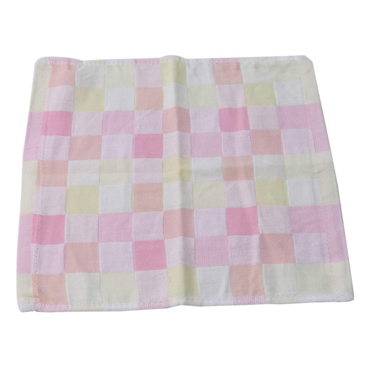 Essencedelight Cotton Towel Gauze Square Soft Washcloths Bath Adult Wash Face Towel Multi-Purpose Household Wash Wipe Towel