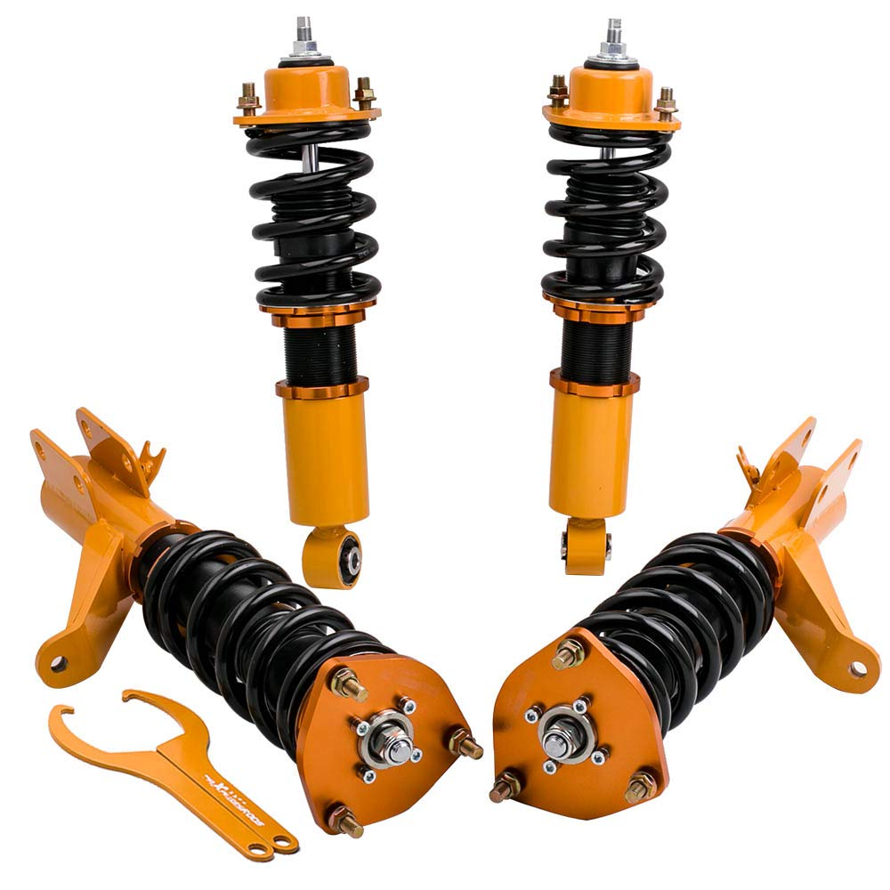 for 01 02 03 04 05 Honda Civic EM2 RSX DC5 EP3 Coilovers Suspension Kits Adjustable Height Carsparadisezone
