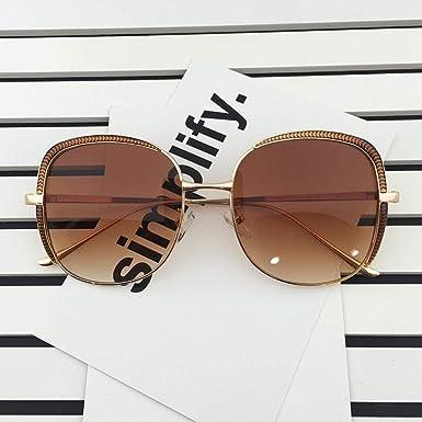 Gafas de sol, gafas de sol retro de gran tamaño anti-UV ...
