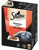 Sheba Katzenfutter Nassfutter Multipack, 48 Beutel (4 x 12 x 85 g)