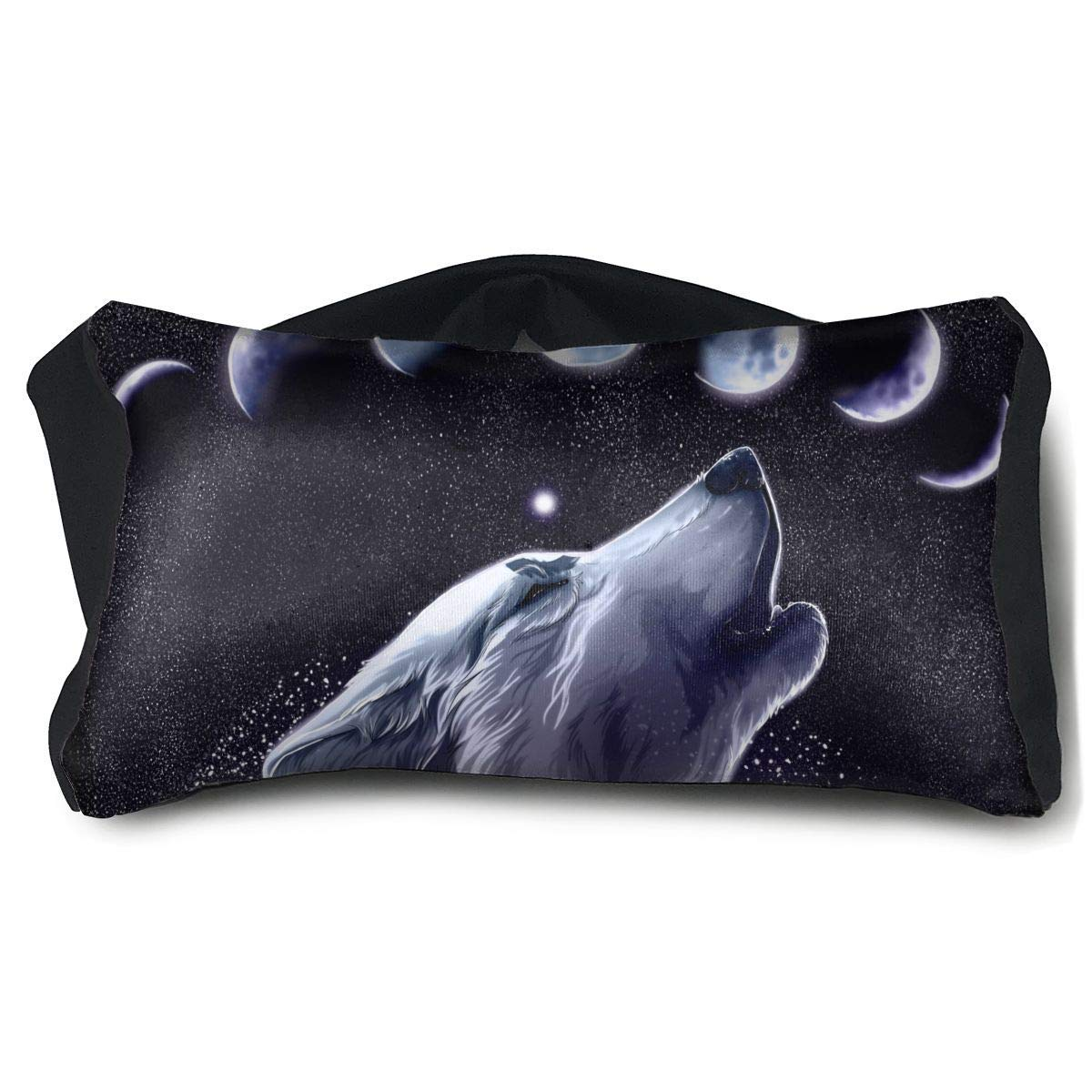 Amazon.com: Beatybag Portable Eye Pillow Moon Wolf Eyeshade ...
