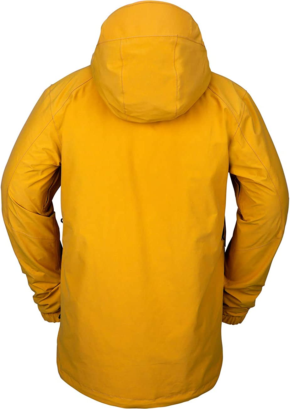 M Volcom TDS 2L Gore-Tex Jacket Mens Resin Gold