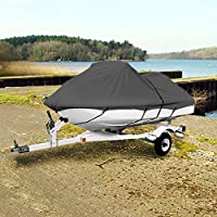 "Neh Gray Trailerable Pwc Personal Watercraft Cover Covers Fits 2-3 Seat Or 127""-135"" Length Waverunner, Sea Doo, Jet Ski, Polaris, Yamaha, Kawasaki Covers"