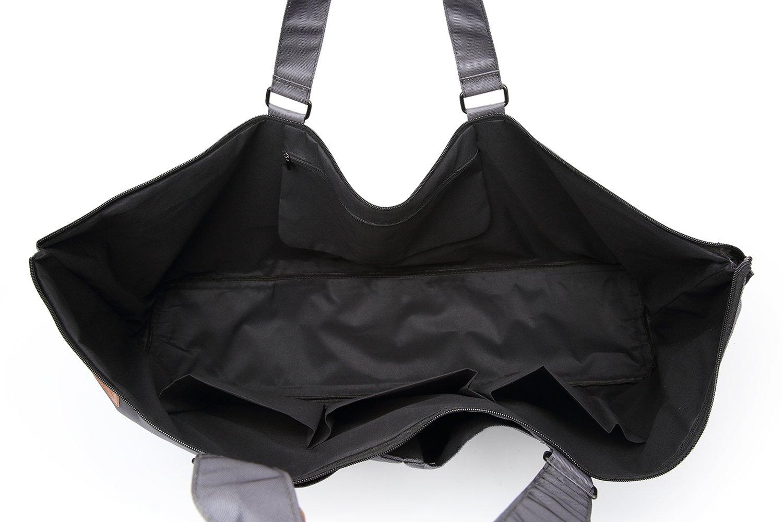 Extra grande para Pilates o yoga Bolsa de deportes para esterillas de gimnasio de Elenture gris oscuro