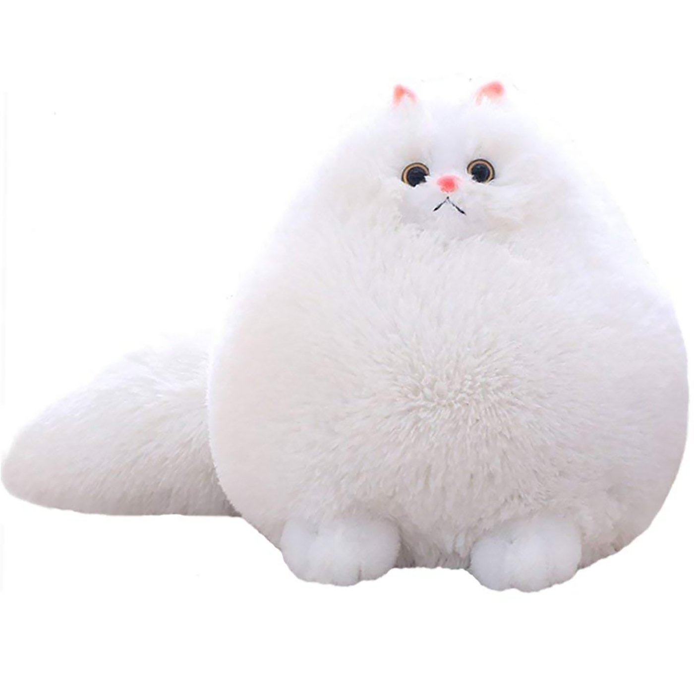 Fat Whi Winsterch Kids Cats Stuffed Animal Toys Gift Plush Cat Animal Baby Doll
