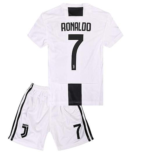 detailed look fbd82 6935e Amazon.com: INFANjsy 2018/19 Juventus Ronaldo #7 Jersey Kid ...