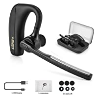 Bluetooth Headset, Wireless Bluetooth Headsets V4.1 in Ear Bluetooth Earpiece with Noise Reduction, Hands Free Headsets with Mic for Office Business Workout Driver
