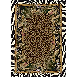 "Signature Jungle Safari Skins Rug Rug Size: 2'8"" x 3'10"""