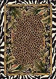Signature Jungle Safari Skins Rug Rug Size: 2'8'' x 3'10''