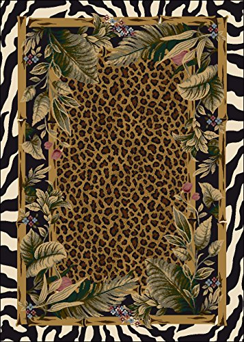 "Signature Jungle Safari Skins Rug Rug Size: 2'8"" x 3'10"""
