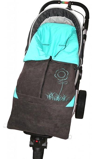 Byboom Baby Fußsack 2in1 Frühjahr Sommer Herbst Universal Für Babyschale Autokindersitz Z B Für Maxi Cosi Römer Für Kinderwagen Oder Buggy Baby